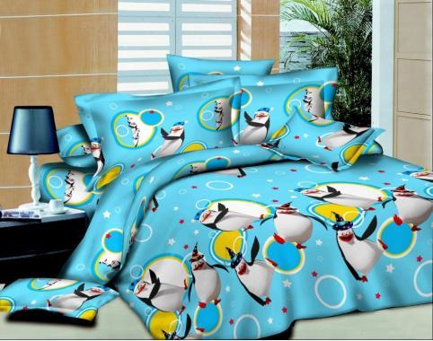 Детское постельное белье Пингвины