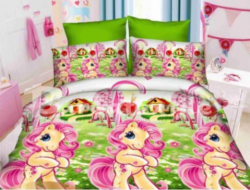 Детское постельное белье Литл Пони