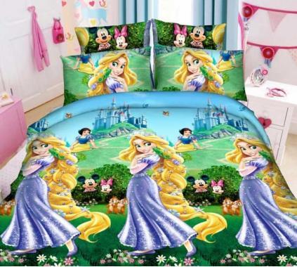 Детское постельное белье Рапунцель