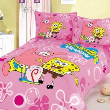 Детское постельное белье Спанч боб с Патриком