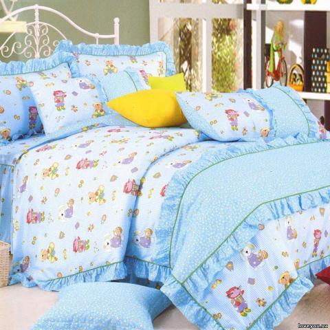 Детское постельное белье для новорожденных Животные