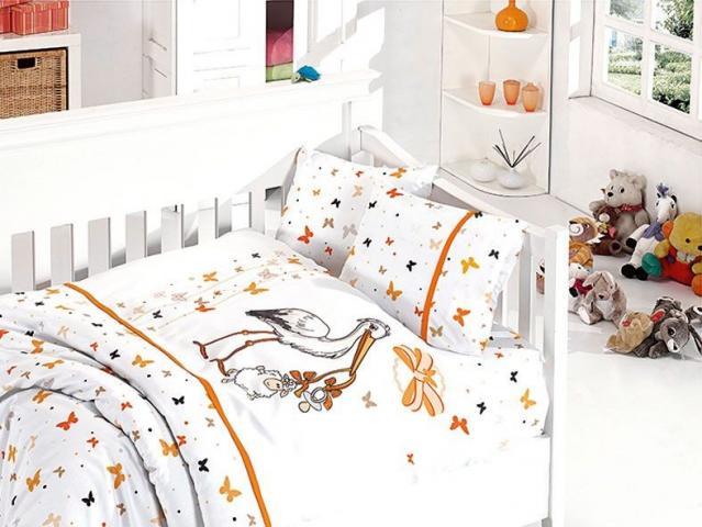 Детское постельное белье Stork oranj
