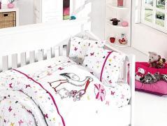 Детское постельное белье Stork pembe