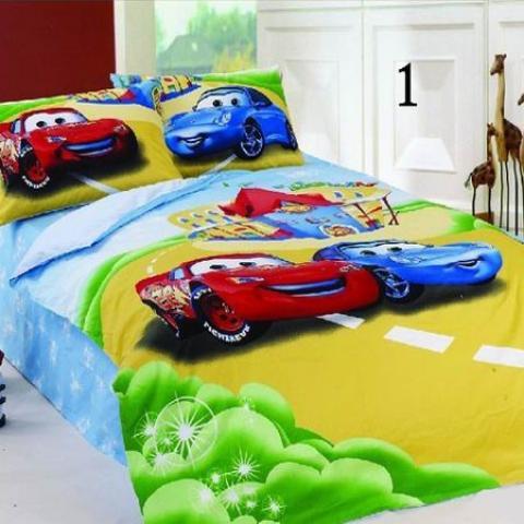 Детское постельное белье Тачки на дороге