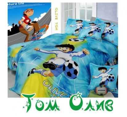 Детское постельное белье Маленький футболист