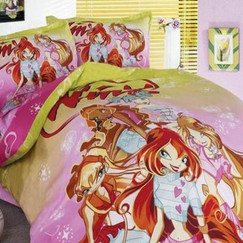 Детское постельное белье Winx