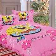 Подростковое постельное белье Спанч Боб для девочки