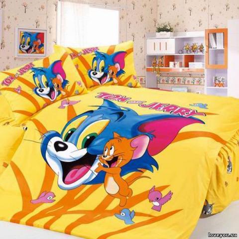 Детское постельное белье Том и Джерри