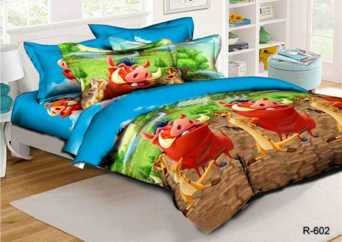Детское постельное белье для новорожденных Тимон и Пумба