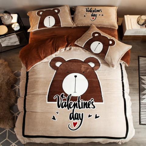 Постельное белье Valentines day