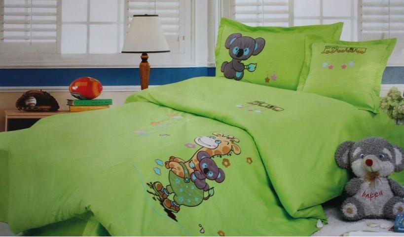 Детское постельное белье Жираф и Коала
