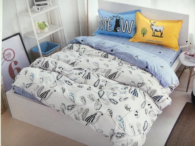 Детское постельное белье Животный лес