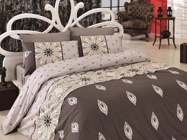 Постельное белье ранфорс Евро First Choice de luxe Sunglow 100% хлопок