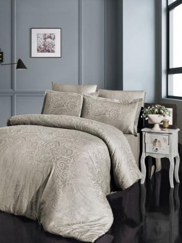 Бамбуковое постельное белье сатин-жаккард Евро First Choice superior bamboo GRETA SAMPANYA 100% бамбук