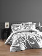 Постельное белье сатин Deluxe Евро First Choice RUYA GRI 100% хлопок