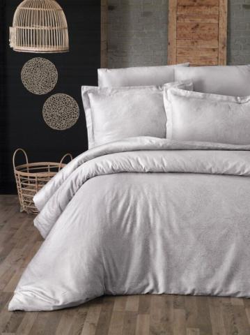 Постельное белье сатин Deluxe Евро First Choice Neva sampanya 100% хлопок