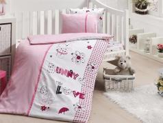 Постельное белье для новорожденных First choice Love Bunny 100% бамбук