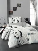 Подростковое постельное белье First Choice New York молодежный 100% хлопок
