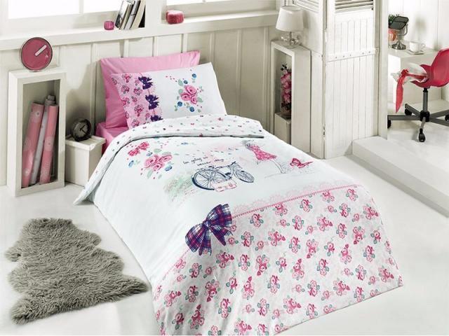 Подростковое постельное белье First Choice CLARA 100% хлопок