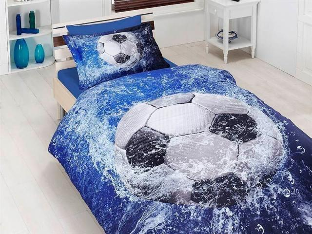 Подростковое постельное белье First Choice Football 100% хлопок