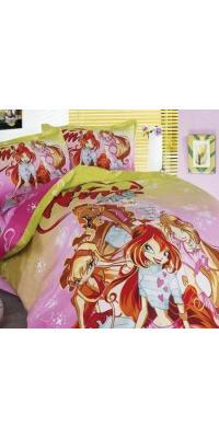 Подростковое постельное белье Winx Love You TD 183 100% хлопок