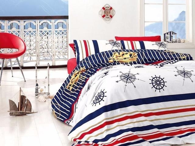 Подростковое постельное белье First Choice AQUA PASSION 100% хлопок