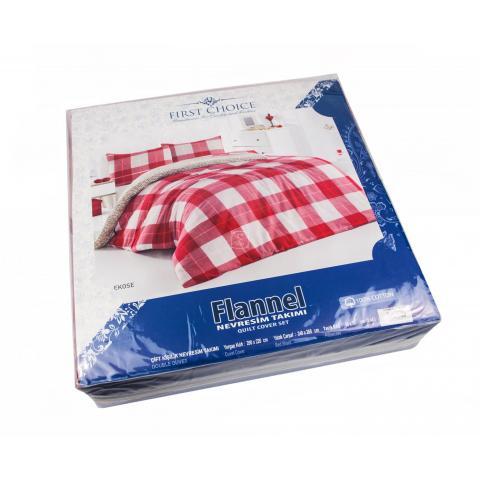 Фланелевое постельное белье для зимы Ekose